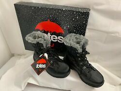 NEW TOTES WATERPROOF WINTER BOOTS FAUX FUR LINING THERMOLITE SIZE 6 WOMEN JUNIOR $29.99