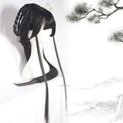 Chinese Young Girl Princess Wigs Long Hair Hairpiece Cosplay Han Costume Wigs