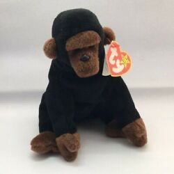 Retired Ty Beanie Baby Congo With Errors Ultra Rare Used.