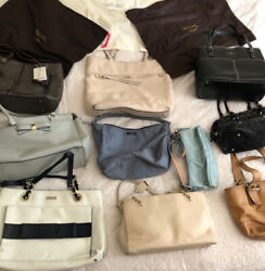 Box Of Designer Purses And Dust Bags