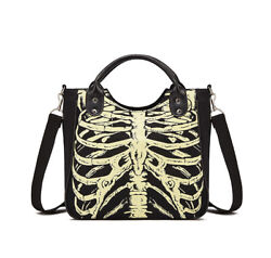 Halloween High capacity Canvas Shoulder Bags Messenger Bags For Women Traveling $29.99