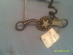 Bit Show Style Texas Star No Pinch Cheeks With Copper Inlay 5 Mouth