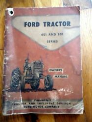 Ford 621 631 821 641 651 661 851 861 841 Tractor Owners Operators Manual