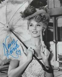 Nancy Kovack Autographed And039the Outlaws Is Commingand039 8x10 Signed 3 Stooges