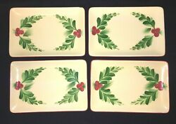 Southern Living At Home Gail Pittman Memories Of Christmas 4 Appetizer Trays