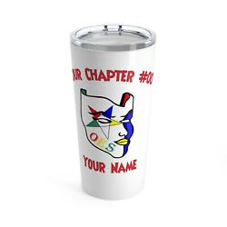 Order Of The Eastern Star Tumbler Masonic Cup Oes Gift
