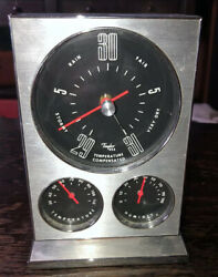 Vintage Humidity Temperature Instrument Gauge Cluster By Taylor