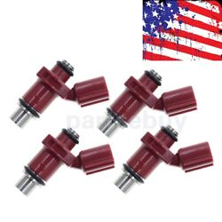 New 6d8-13761-00-00 Outboard Fuel Injector 4 Stroke 10 Holes Set Of 4 For Yamaha