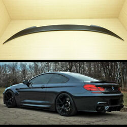 Painted Bmw V Type 6-series F13 2d Coupe Rear Boot Trunk Spoiler Wing 640i 650i