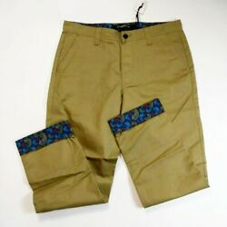 Play Cloths Mens 100 Authentic Long Green Cypress Pants Size 36 Rare New 1of1