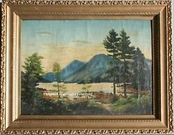 Beautiful antique oil picture from scottland 16 century