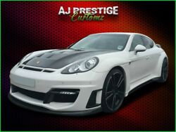 Porsche Panamera Wide Arch Bodykit With Bumpers Exhaust Ledand039s Spoiler