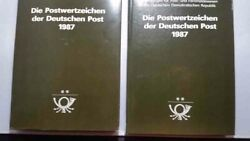 East Germany Ddr 1987 Hard To Find Stamp Year Book