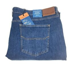 Rm Williams Men's Ramco Regular Fit Tapered Stretch Jeans Size 52 X 32 New