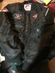 Canada Weather Gear Size Large- Black Zip Up- Pre Owned