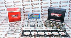 Manley Pistons And Rods And Arp Head Stud Kit W/ Toyota Gasket For Supra 2jzgte