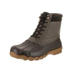 Sperry Top-sider Brewster Wp Boot Mens Olive Boots