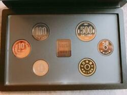 Used Tokutoshi 2012 Year Heisei 24 Mint Proof Money Set Gold Coins Rare Special