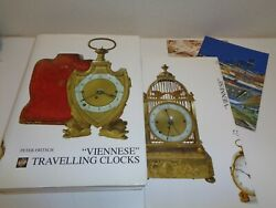 Viennese Travelling Clocks Rare Book By Peter Fritsch Antiques
