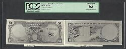 Guyana Obverse And Reverse One Dollar Photograph Proof Uncirculated