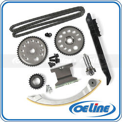 Timing Chain Kit For 00-10 Chevrolet Saturn 2.0l 2.2l Dohc Gear Oiler Bolts Set