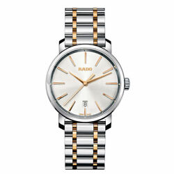 Rado Diamaster 40mm Multicolor Steel Bracelet And Case Synthet Menand039s Watch R140781