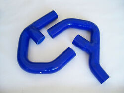 Silicone Intercooler Pipe Hose Kit For Vw Golf Mk5 Mk6 Gti Fsi 2.0t 4ply Blue
