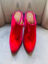 Givenchy women Velvet Mule size 41 style FASH LAB New With box And Dust Bag $450.00