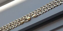 10k Solid Gold Men's Cuban Link Chain Necklace 9.5mm 20-36 Free Shipping