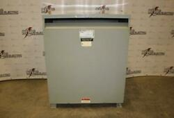 300.00 Kva General Electric Dry Type Transformer 480d-208y/120 Volt 3 Phase