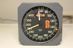 Dc-10 Md-80 Sperry Mach Airspeed Indicator Asi 2594466-905