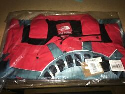 Ds Supreme Statue Of Liberty Mountain Jacket Red Size Medium In Hand
