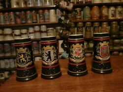 8 German Blue Colbet Steins Complet Set Thes Were Test Steins No Others Avalabe