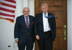 Rudy Giuliani Donald J Trump Glossy Poster Picture Photo Banner President 5590