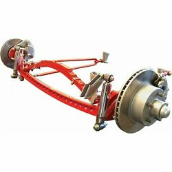 Rhd 1933-1934 Ford Deluxe Four Link Drilled Solid Axle Kit Model A Rat Rod