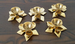 Decorative Brass Collectible Table Candle Holders Antique Vintage Lot Of 100 Pcs