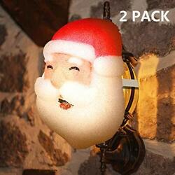MAOYUE 2 Pack Porch Light Covers Outdoor Christmas Decorations Christmas Holiday