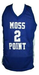 Devin Booker 2 Moss Point High School Basketball Jersey Blue - Any Size