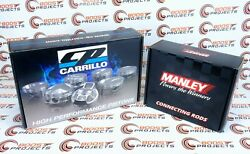 Cp-carrillo 84.5mm Bore 9.51 Cr Pistons And Manley Turbo Tuff Rods For Bmw S55b30