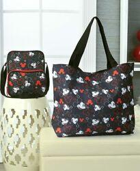 MICKEY or MINNIE MOUSE DISNEY CROSSBODY BAGS or OVERNIGHT TOTE PURSES Travel $16.30