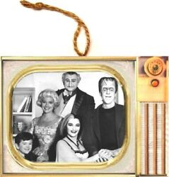 The Munster's Show Television Ornament Wood And More Popular Tv Shows Retro Usa