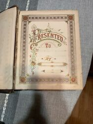 Antique The Holy Bible Old And New Testament W/ Cruden's