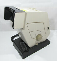 Military Optec 2300 Vision Stereoscope Optical Eye Tester Working W/slides