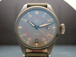 IWC Big Pilot's Top Gun Miramar 7 Day Power Reserve 48mm Ceramic IW501902 New !