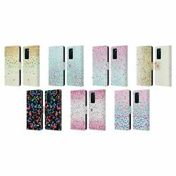 Head Case Designs Confetti Leather Book Case And Wallpaper For Huawei Phones