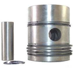 Piston Assembly For Lister Cs 5-1 6-1 Engine With Ring Set Part No Dev 574-10340