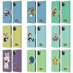 OFFICIAL RABBIDS COSTUMES LEATHER BOOK WALLET CASE FOR APPLE iPHONE PHONES