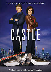 Castle The Complete First Season Dvd, 2009, 3-disc Set