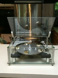 TRANSCRIPTORS SKELETON TURNTABLE US - RARE AND SOUGHT AFTER - BEAUTIFUL