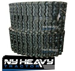 Two Zig Zag Rubber Tracks For Bobcat T770 450x86x55 17.7